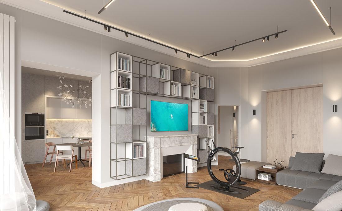 rénovation intérieure appartement haussmanien